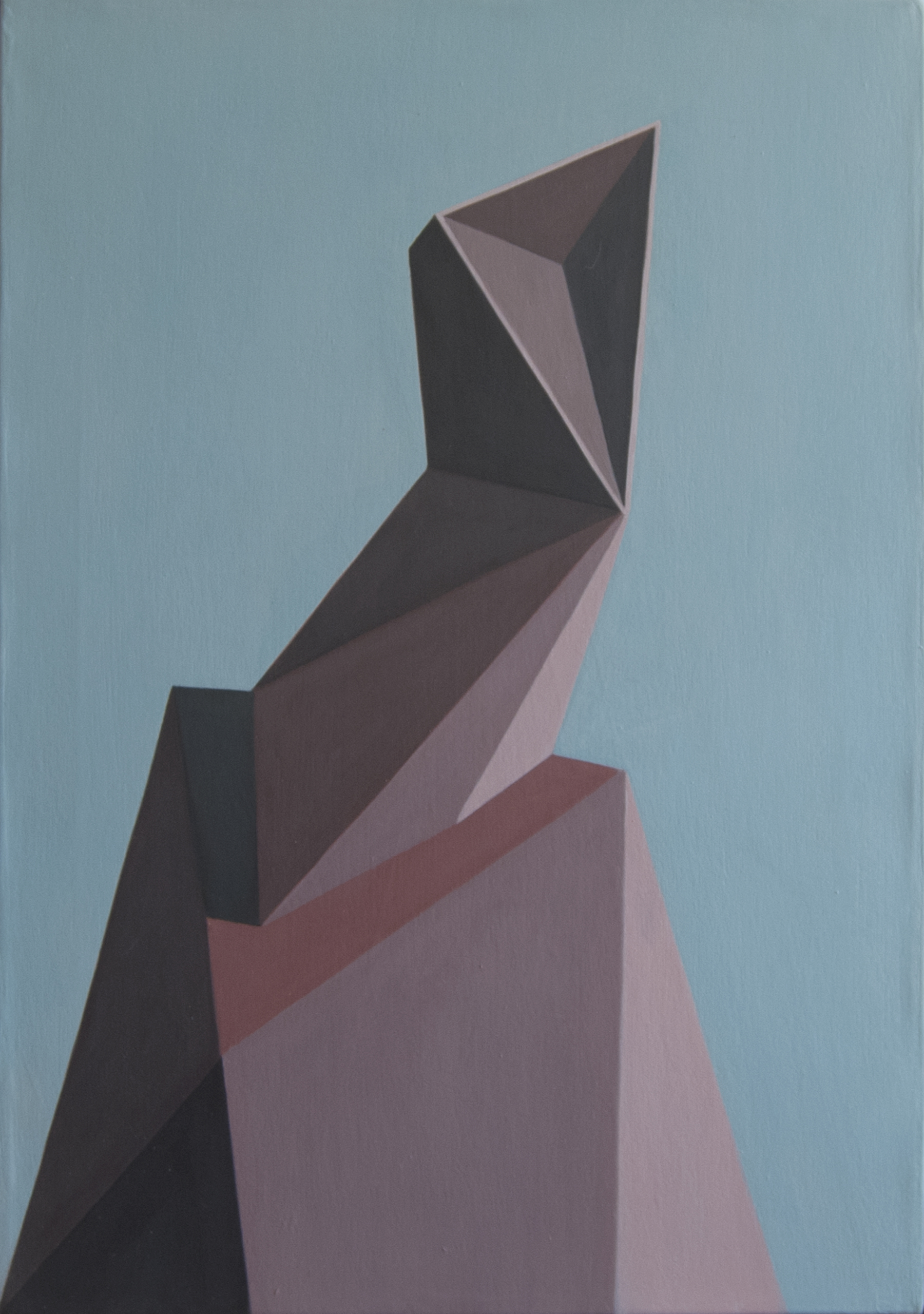 Allocco, Abstract Geometric Painting