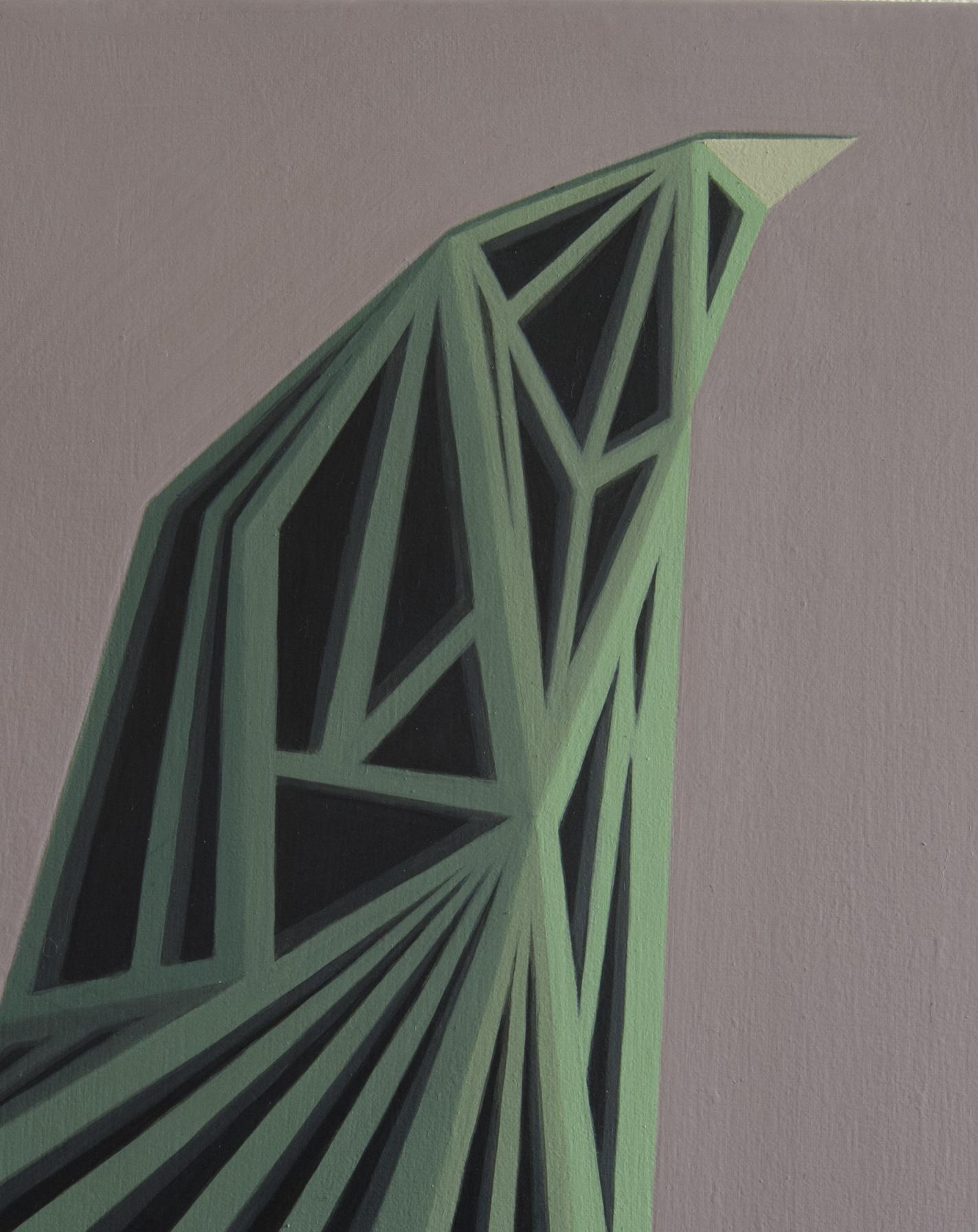 Geometric Painting by Italian Artist Roberto Chessa