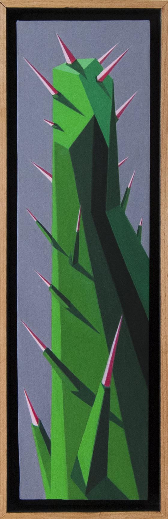 Geometric contemporary Painting, Italian Artist Roberto Chessa