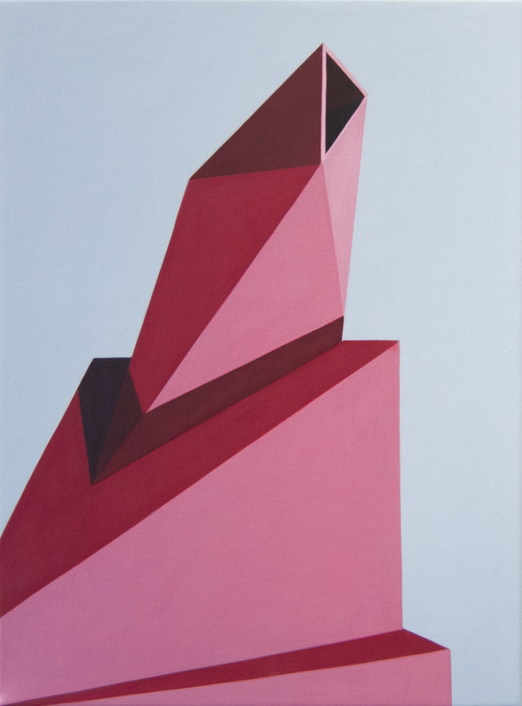 Geometric Painting On Canvas