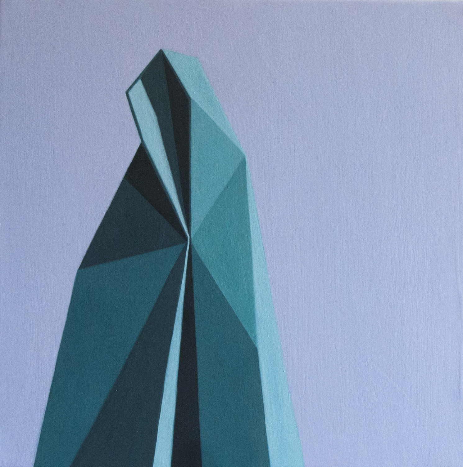 Geometric Abstract Painting By The Artist Roberto Chessa